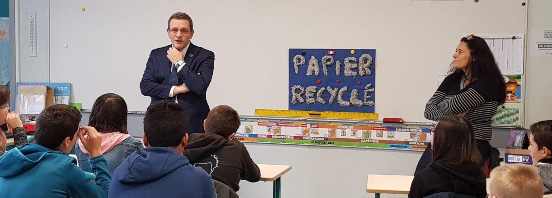 Dans une classe SEGPA d'une école d'Avrillé