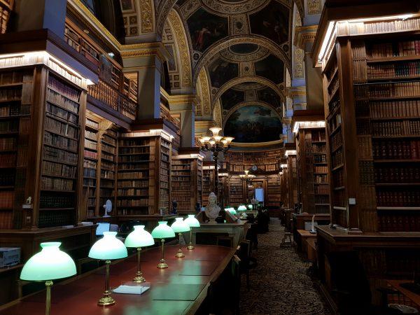 12/2017 - Paris - Bibliothèque de l'Assemblée nationale