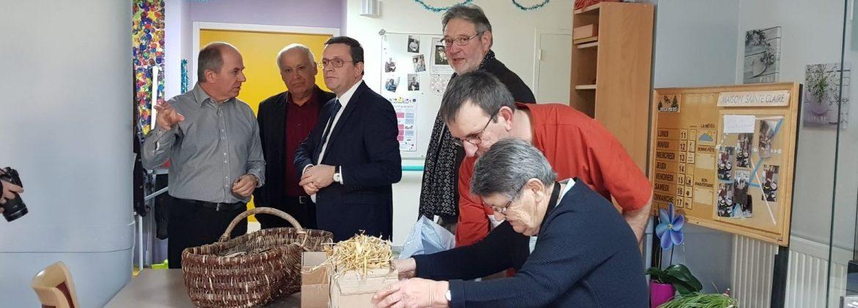 Visite de l'EHPAD de Noyant-la-Gravoyère