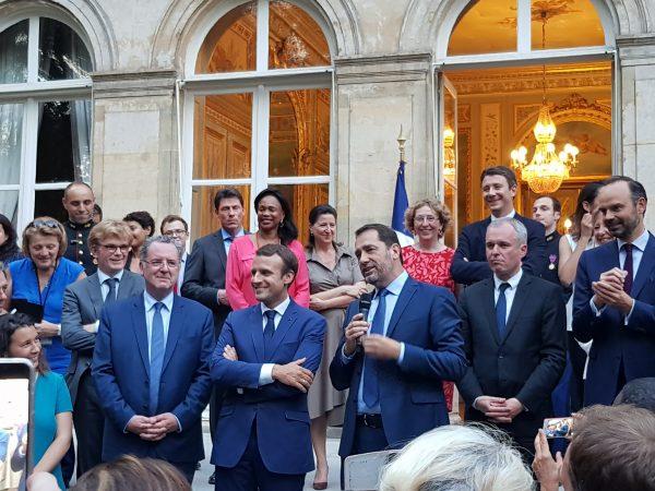 07/2017 - Paris, Ministère des relations avec le parlement - Rencontre avec le Président de la République et les membres du gouvernement