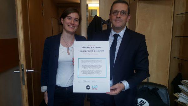 10/2017 - Paris, Assemblée nationale - Signature du pacte contre l'extrême pauvreté