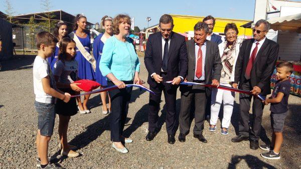 09/2017 - Candé - Inauguration du comice agricole, avec Catherine Deroche (sénatrice) et Gérard Delaunay (maire)
