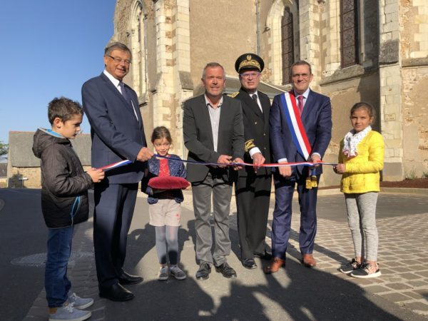 10/2017 - Louvaines - Inauguration du centre-bourg