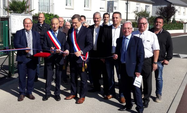 09/2017 - Cantenay-Epinard - Inauguration de travaux