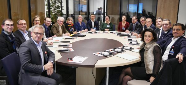 11/2017 - Beaucouzé - Visite de l'entreprise Evolis avec la CCI49