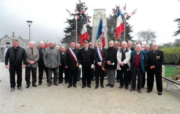 11/2017 - Le Bourg-d'Iré - Cérémonie du 11 novembre 2017