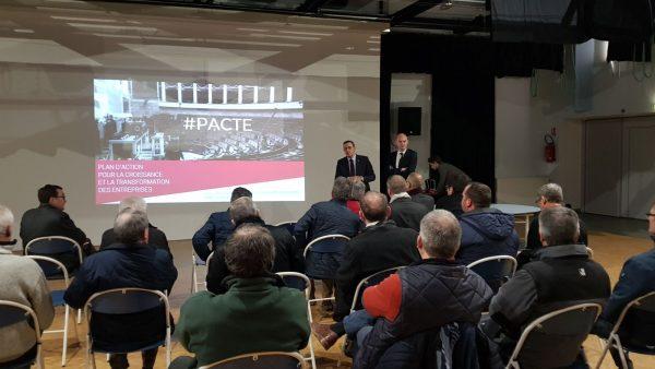 03/018 - Bécon-les-Granits - Atelier participatif de préparation à l'examen de la loi PACTE