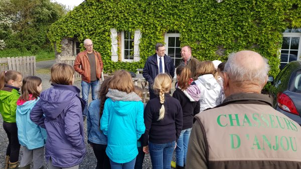 04/2018 - Angrie - Visite du club nature