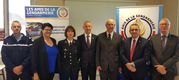09/2018 - Segré - Assemblée générale des amis de la gendarmerie, en présence du Gal Colin, président national