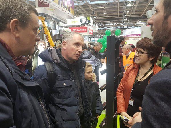 02/2018 - Paris, salon de l'agriculture - Rencontre avec Christiane Lambert et un agriculteur de Maine-et-Loire