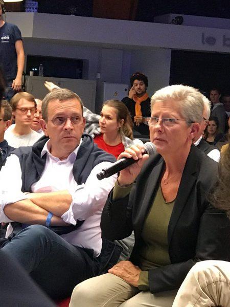 09/2017 - Guidel (Morbihan) - Université d'été du MoDem avec la Minsitre Geneviève Darrieussecq