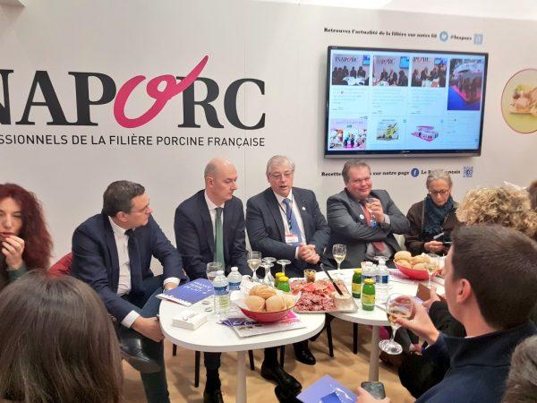 02/2018 - Paris, salon de l'agriculture - Visite du salon avec la Commission des affaires économiques