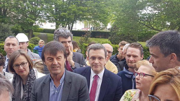 04/2018 - Angers - Visite de Nicolas Hulot, Ministre de la transition écologique et solidaire