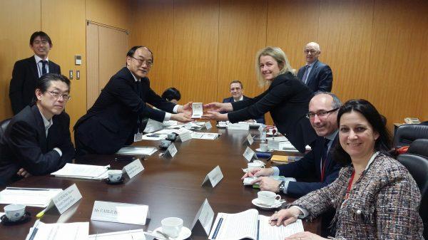 05/2018 - Tokyo (Japon) - Rencontre avec les membres du Nuclear Disaster Management Bureau