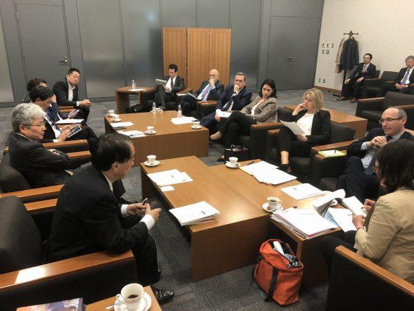 05/2018 - Tokyo (Japon) - Rencontre avec l'ancien Premier ministre, Naoto Kan
