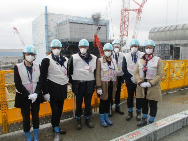 05/2018 - Fukushima (Japon) - Visite de la centrale nucléaire