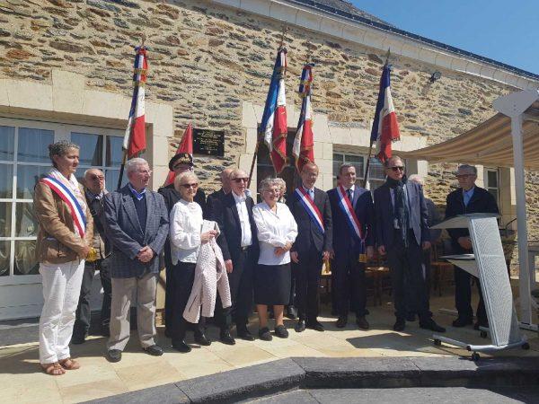 05-2018 - La Prévière - Pose d'une plaque commémorative des justes de France