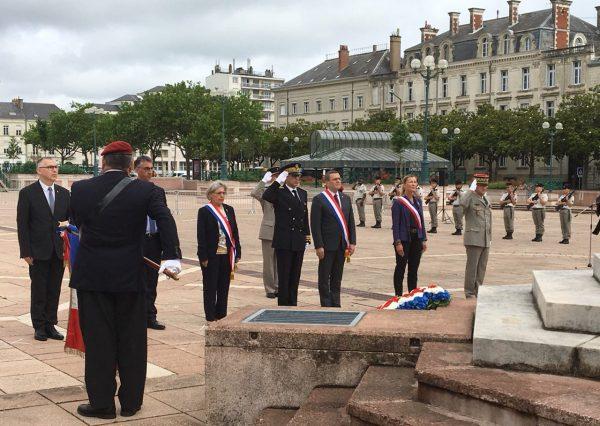 06/2018 - Angers - Commémoration de l'appel du 18 juin 1940