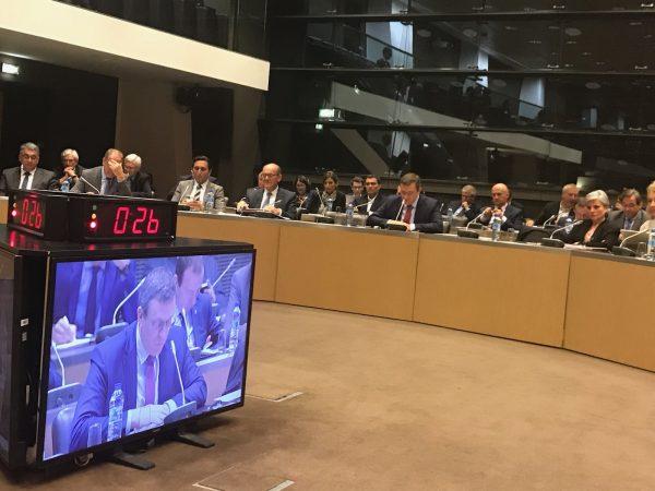 05/2018 - Paris, Assemblée nationale - Table ronde sur la programmation pluri-annuelle de l'énergie