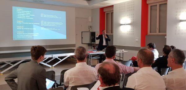 07/2018 - Le Louroux-Béconnais - Réunion de présentation du projet de loi PACTE