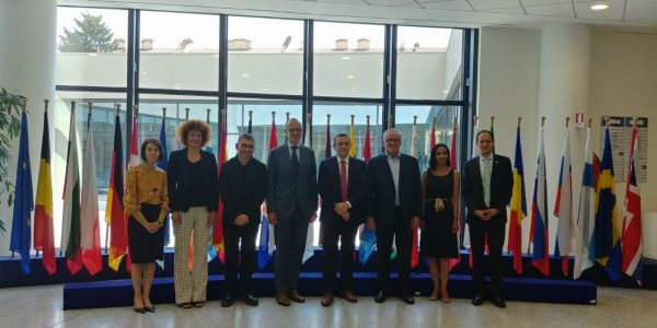 07/2018 - Parme (Italie) - Visite de l'European Food Safety Authority