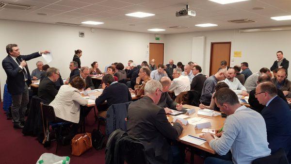 03/2018 - Angers, Chambre d'Agriculture - Animation d'un atelier participatif sur la contribution de l'agriculture au développement des énergies renouvelables