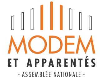 Logo du groupe MoDem et apparentés à l'Assemblée nationale