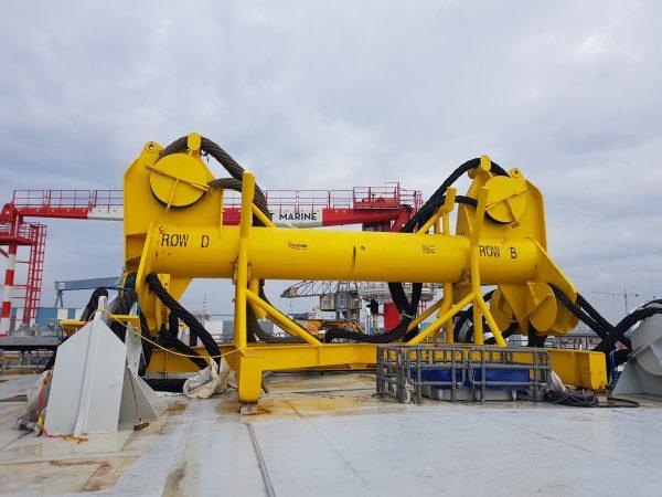03/2018 - Saint-Nazaire (44) - Inauguration de la sous-station offshore Arkona