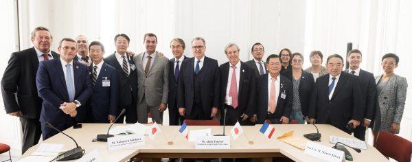 09/2018 - Paris, Assemblée nationale - Rencontre des groupes d'amitié France‐Japon