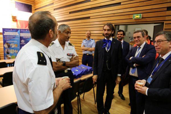 09/2018 - Pontoise (Val d'Oise) - Visite avec l'OPECST du service judiciaire de la Gendarmerie nationale