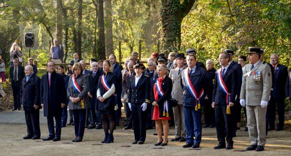 10/2018 - Angers - Cérémonie en homage aux fusillés de Belle-Beille