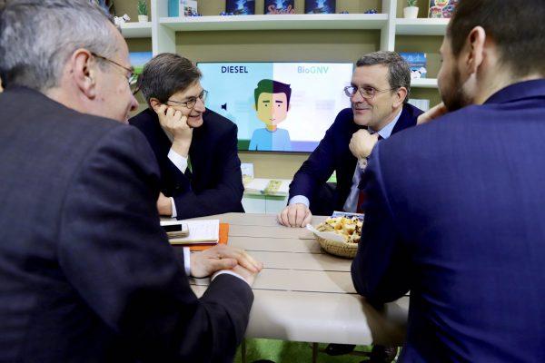 02/2019 - Paris, salon de l'agriculture - Rencontre avec Edouard Sauvage, Directeur général de GRDF
