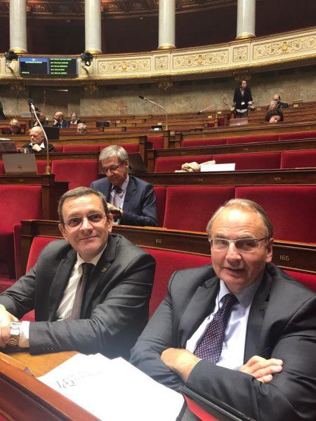 03/2019 - Paris, Assemblée nationale - Avec mon collègue Jean-Louis Bourlanges