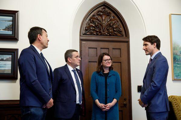 04/2019 - Canada, Ottawa - Rencontre avec le Premier Ministre canadien Justin Trudeau