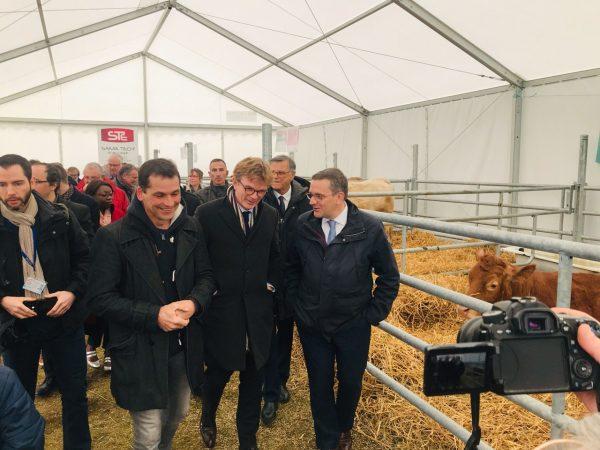 04/2019 - Segré-en-Anjou-Bleu - Comice agricole en présence de Marc Fesneau, Ministre des relations avec le parlement