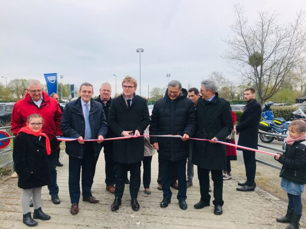 04/2019 - Segré-en-Anjou-Bleu - Inauguration de la foire-exposition en présence de Marc Fesneau, Ministre des relations avec le parlement