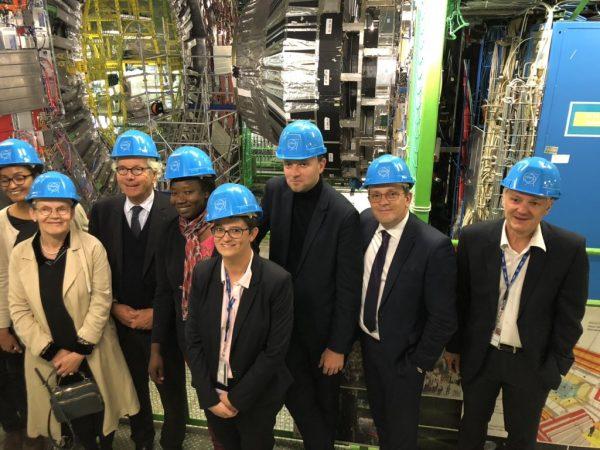 05/2019 - Genève, CERN - Visite du CERN avec une délégation de l'OPECST