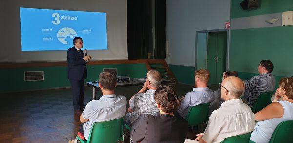 07/2019 - Chazé-sur-Argos - Atelier préparatoire à la loi engagement et proximité