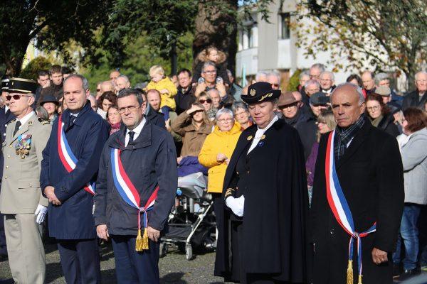 11/2019 - Avrillé - Commémoration du 101ème anniversaire de l'armistice du 11 novembre 1919