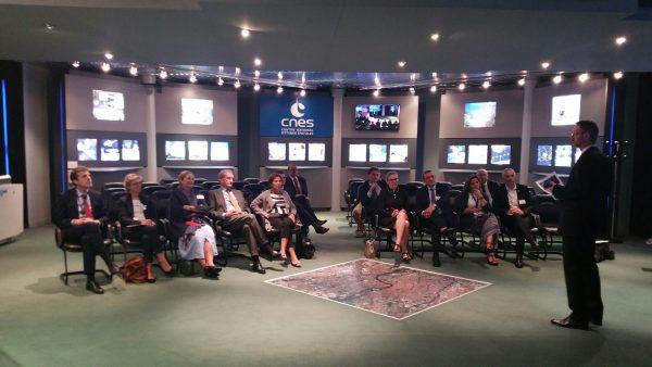 10/2019 - Toulouse - Visite du CNES avec une délégation de l'OPECST