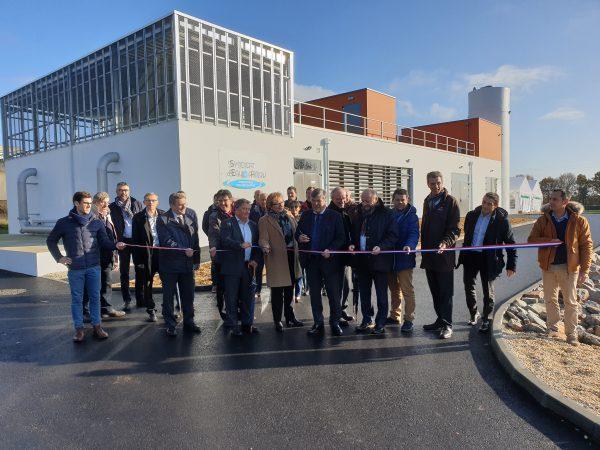 11/2019 - Chazé-Henry - Inauguration de l'usine d'eau potable