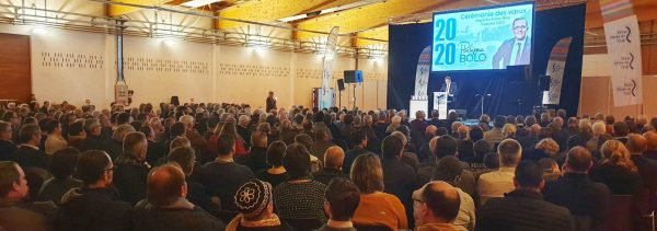 01/2020 - Segré-en-Anjou-Bleu - Vœux 2020 à la circonscription