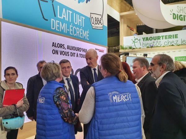 02/2020 - Paris - Visite du Salon de l'Agriculture avec la délégation des affaires économiques