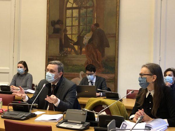 12/2020 - Paris, Sénat - Présentation avec la sénatrice Angèle Préville du rapport OPECST