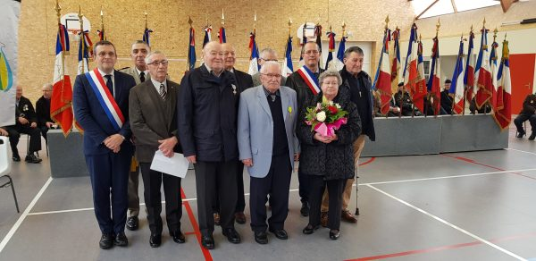 03/2020 - Erdre-en-Anjou - Commémoration et remise de médaille