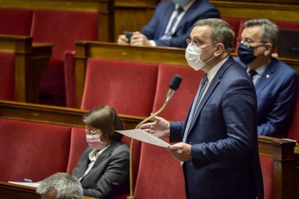 05/2021 - Paris, Assemblée nationale - Question au Gouvernement sur le démarchage téléphonique abusif